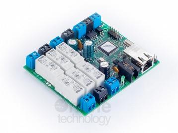 SDS MICRO Light IO6 R6-12V-6x relé,opto,teploměr